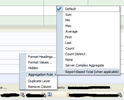 OBIEE 11G Aggregation Rule